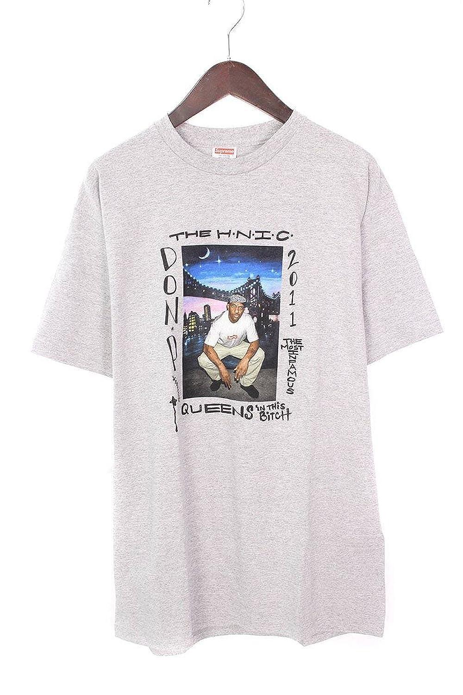 (シュプリーム) SUPREME 【11SS】【Mobb Deep Prodigy Tee】プロディジープリントTシャツ(L/グレー) 中古 B07FFRRCFD