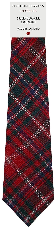 MacDougall Modern Tartan Plaid 100/% Lambswool Scarf /& Tie Gift Set