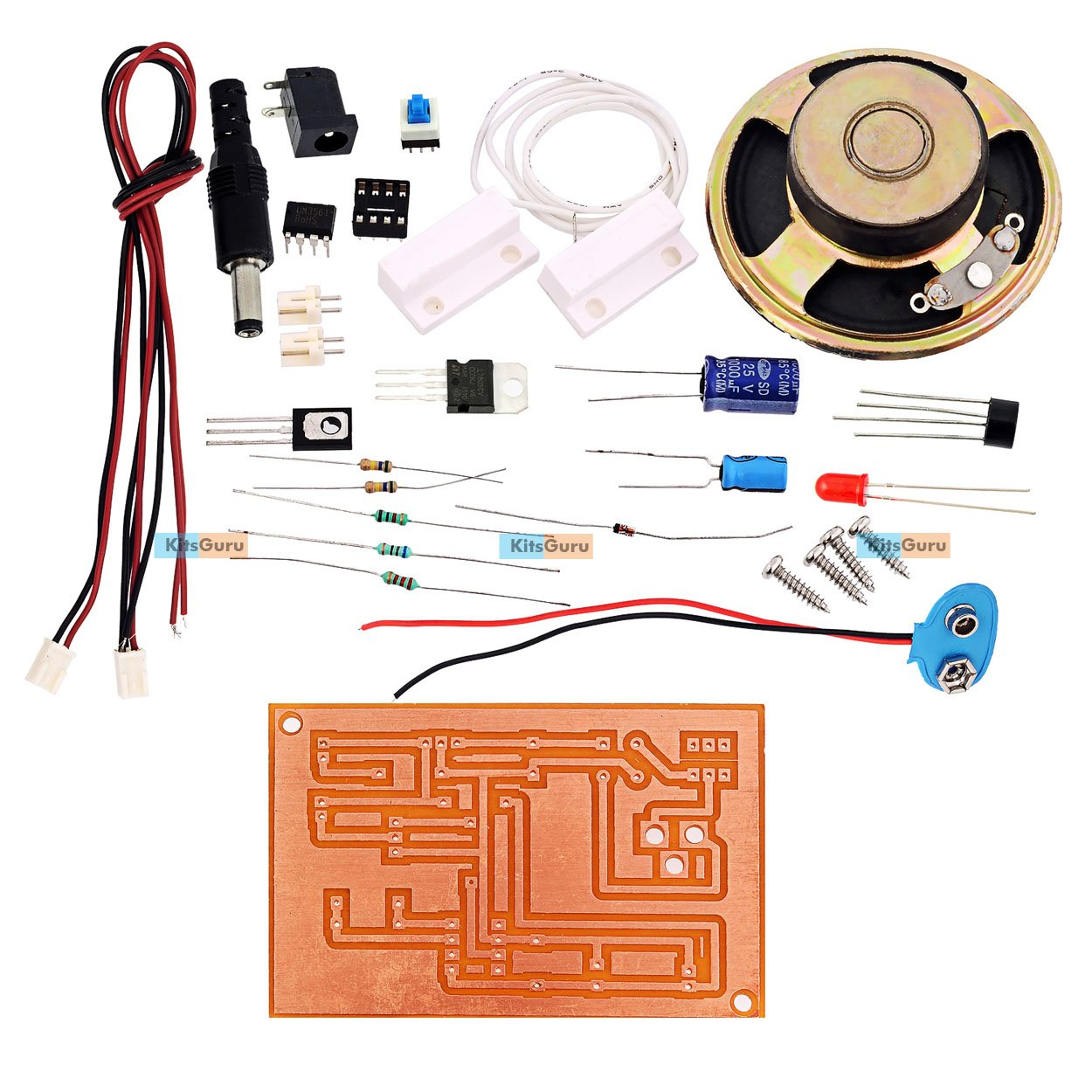 Diy Kit Atm Machine Gate Security System Lgkt001 Basic Um3561 Siren Generator Design Electronics