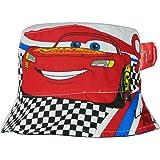 Disney Pixar Cars Official Boys Bucket Hat Reversible Caps Summer Sun Hats  - Blue 52 20f4221b318