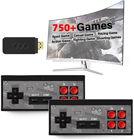 Portable HDMI Y2 HD Video Game Console Wireless TV Games Console for Game Player Plug and Play Video Games Built-in 568 Classic Games Kitabetty Retro Game Console