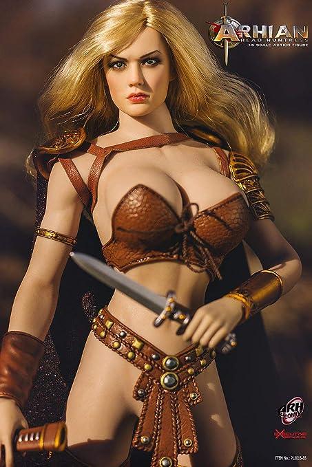 Amazon Female Warrior Amazon Action Figures 1//6 Scale Hands