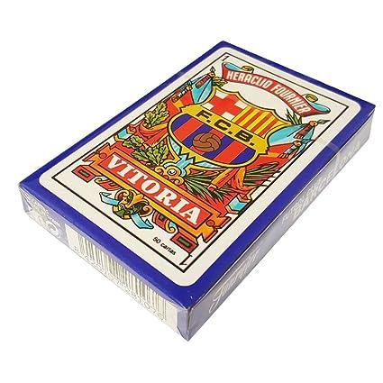 Baraja cartas barcelona remy caja carton c.50 fournier 2810