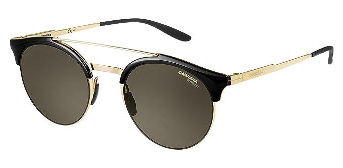 4fe39cb7a98e Amazon.com: Carrera Women's 141/s Round Sunglasses, Gold, 51 mm ...