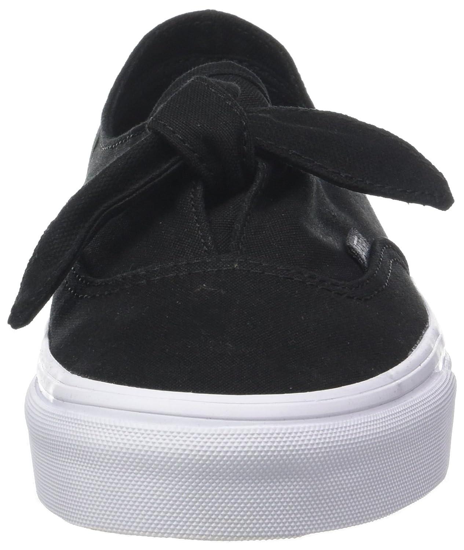 Vans Damen Authentic Knotted Sneaker (Canvas) Schwarz (Canvas) Sneaker d93958