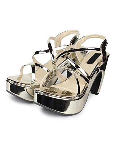 a0b483d8d5 Orysta Styslih Glass Heels for Women: Buy Online at Low Prices in India -  Amazon.in