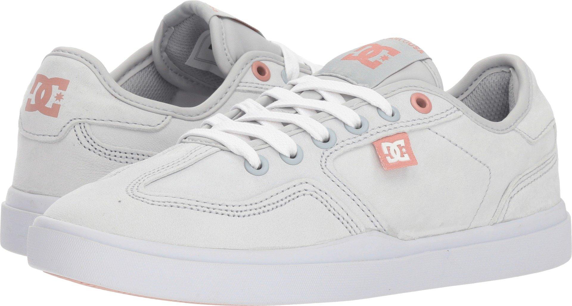 DC Women's Vestrey Le Shoes 6B Grey/Grey/White by DC