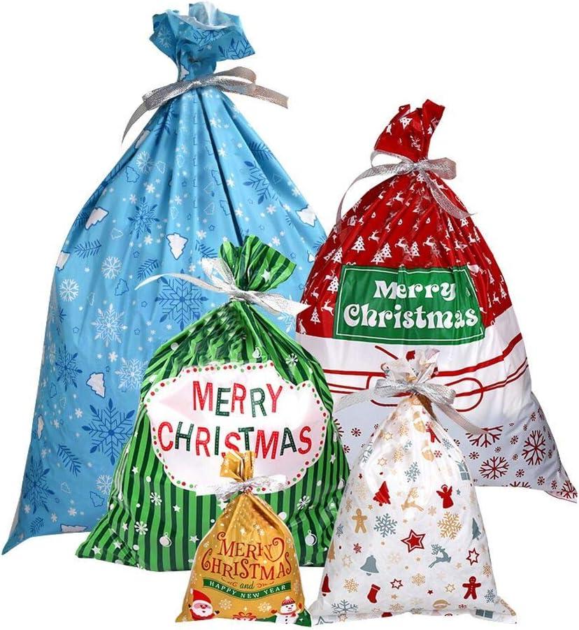 Cozywind 30pcs Bolsa de Regalo Bolsitas de Dulces para Fiestas de Navidad Bodas o Cumpleaños .