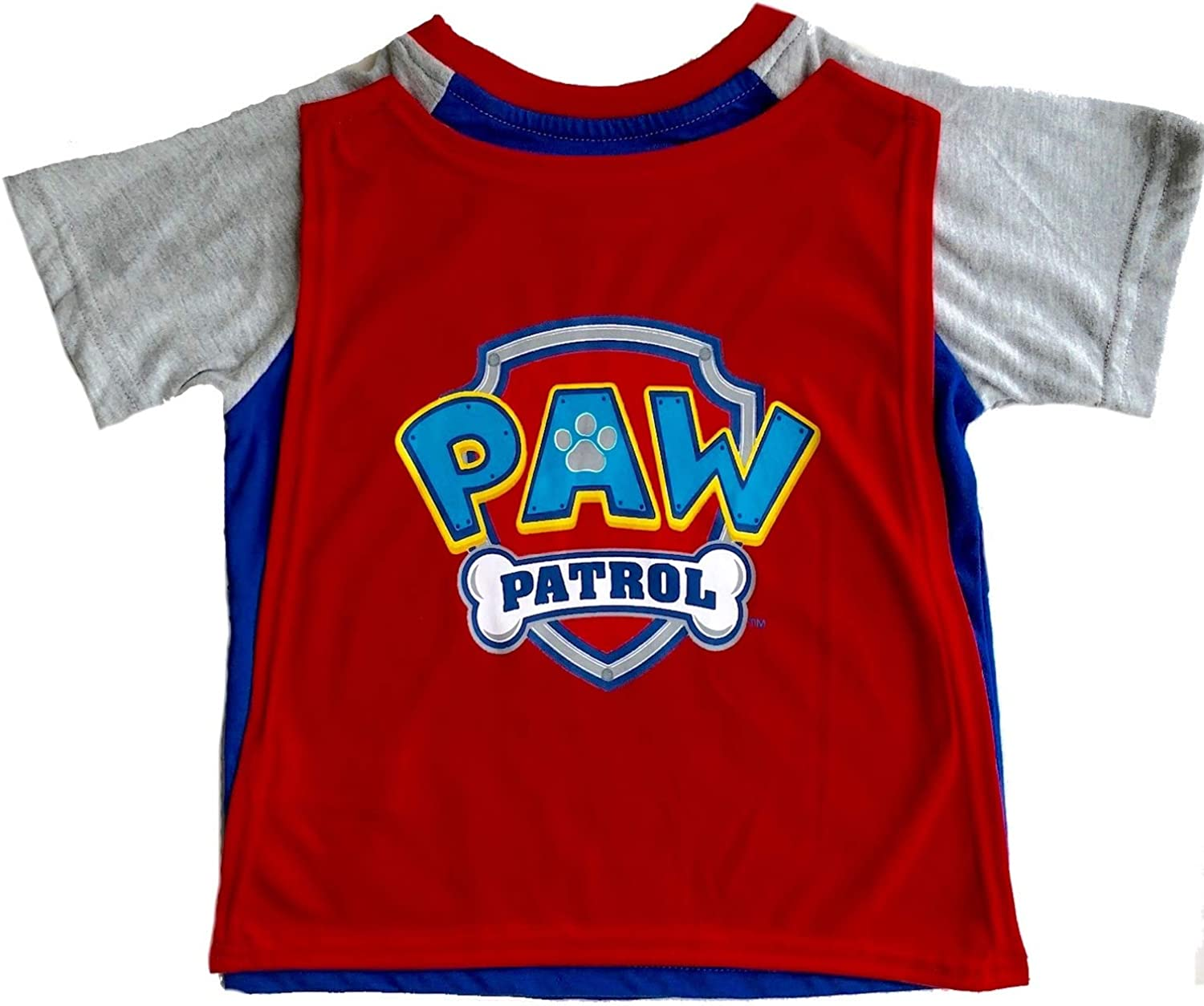 Paw Patrol Toddler Boys Ready For Action T-Shirt With Cape