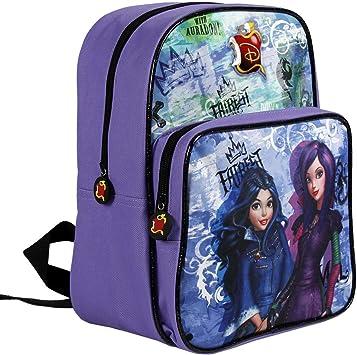 Descendants Backpack for little Girls Violet School Bag with front pocket...