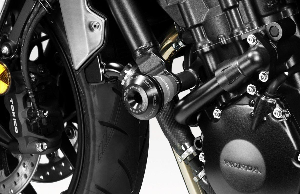 - 100/% Made in Italy - Aluminium Sturzschutz Rahmen Crash Sliders R-0902 Kit Sturzpads Warrior CB1000R 2018//19 Motorradzubeh/ör De Pretto Moto DPM Race inkl Hardware-Bolzen