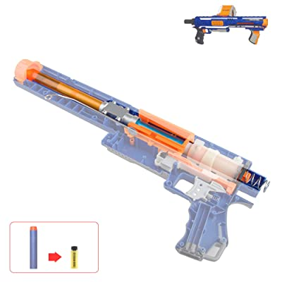 WORKER Short Dart Mod Kit Set for Nerf Rampage N-Strike Elite Toy Blaster: Toys & Games