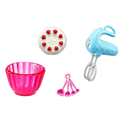 Barbie Baking Accessory Pack: Toys & Games