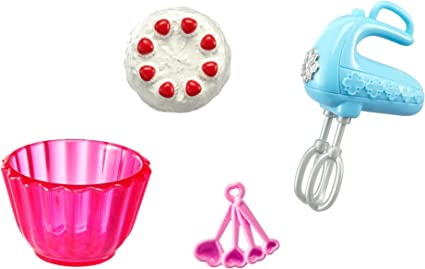 Amazon Com Barbie Baking Accessory Pack Toys Games