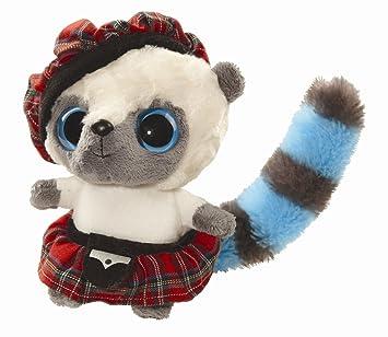 Aurora Yoohoo - Peluche vestido de escocés (12,7 cm)