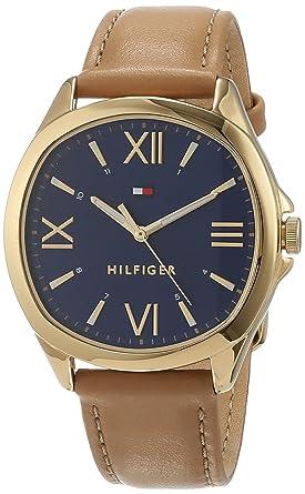 Tommy Hilfiger Reloj Analógico para Mujer de Cuarzo con Correa en Cuero 1781892: Amazon.es: Relojes