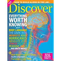 1-Year (8 Issues) of Discover Magazine Subscription