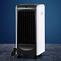 Devanti Evaporative Air Cooler Portable Air Conditioner Humidifier Cooler with w/Remote Control