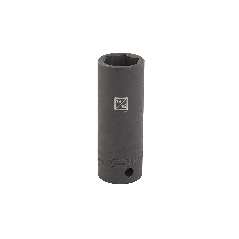 6-Point TEKTON 14181 3//8-Inch Drive by 9//16-Inch Deep Socket Cr-V