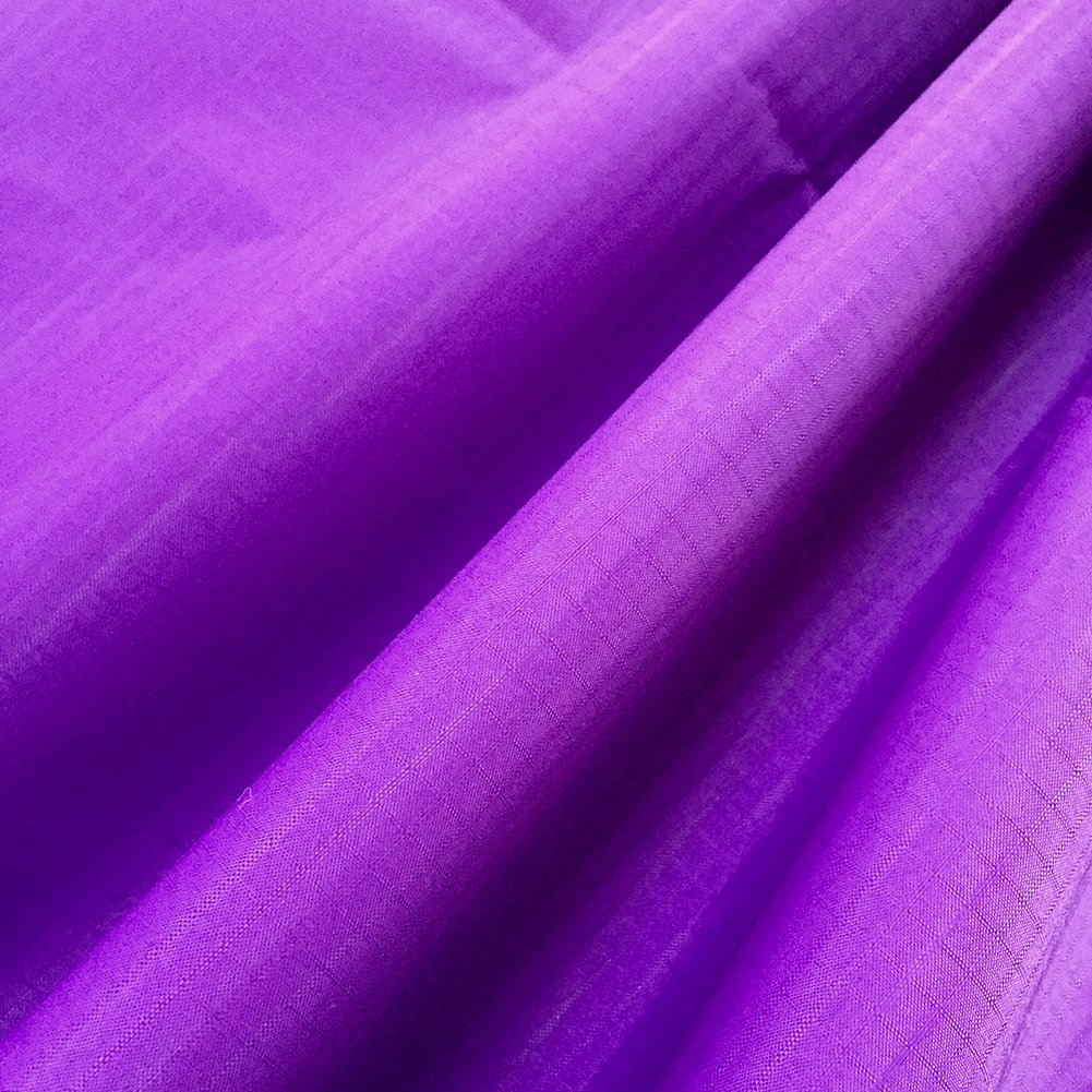 No.15 Purple 152x273cm emma kites Ripstop Nylon Fabric 48g (Sq M) of Water Repellent Dustproof Airtight PU Coating  Excellent Fabric for Kites Inflatable Skydancer Flag Tarp Cover Tent Stuff Sack