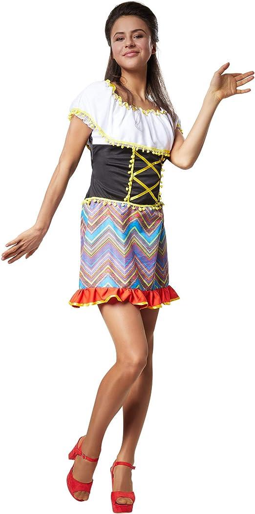 dressforfun 900558 - Disfraz de Mujer Seductora Valentina, Vestido ...