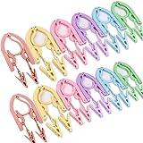 1* Durable Portable Folding Clothing Coat Hanger Travel Plastic Hangers Y5E4