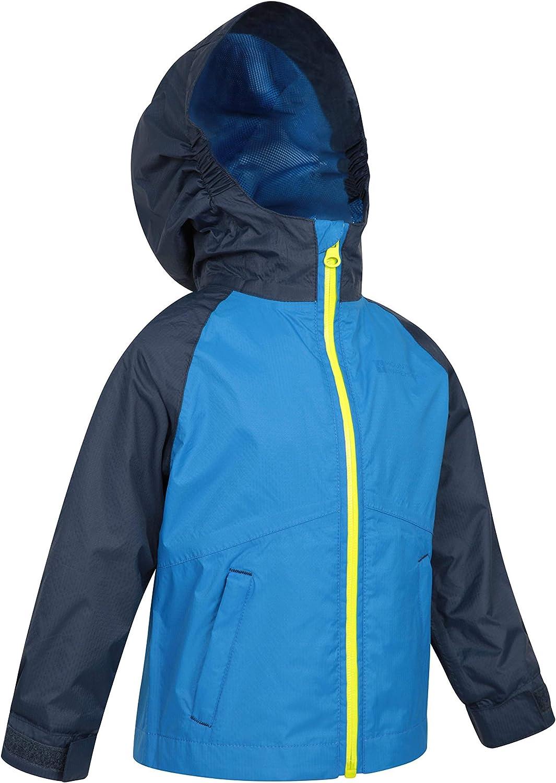 Mountain Warehouse Torrent Kids Waterproof Rain Jacket Boys /& Girls
