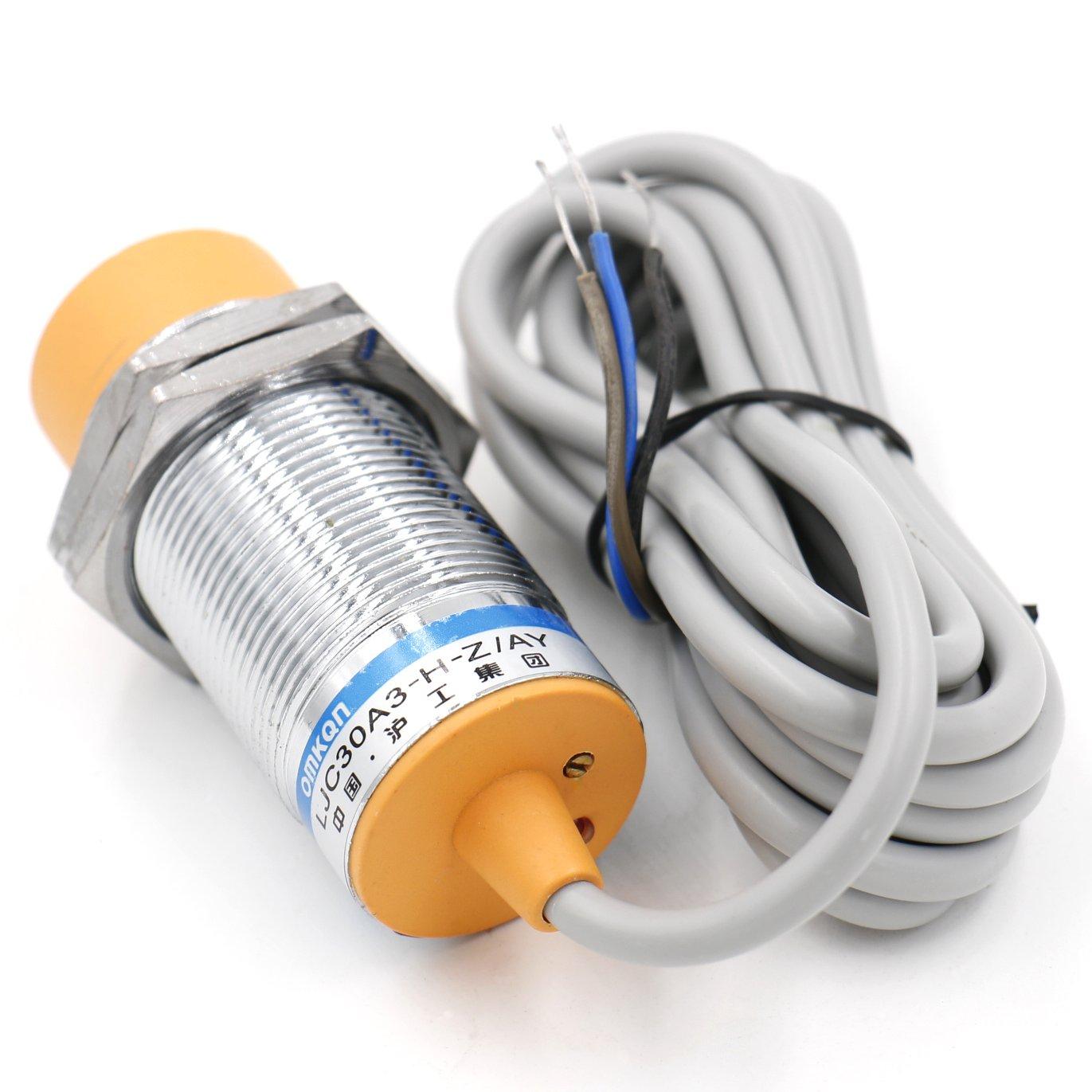 heschen capacitiva Sensor de proximidad Interruptor Detector de ljc30 a3-h-z/Ay 1 - 25 mm 6 - 36 VDC 300 mA PNP Normalmente cerrado (NC) 3 alambre: ...