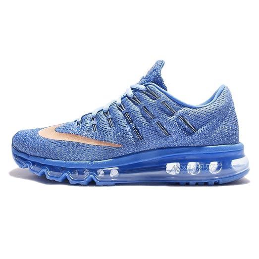 sports shoes ab0a8 de65f ... sweden nike kids air max 2016 gs star blue metallic red bronze white  6824d 139e1 ...
