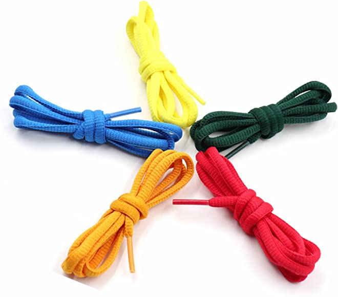Pair Pack 29 Colors Half Round Shoelaces Sport Shoes Laces Athletic Sneakers