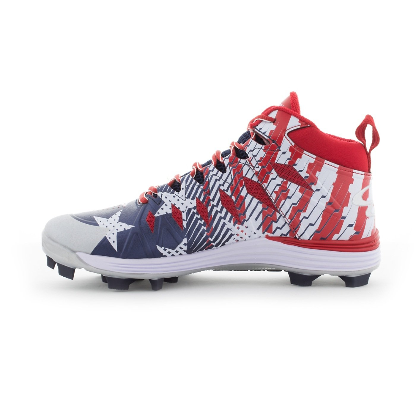 d71bff170e6 Boombah Mens Squadron Molded Mid Cleats - 15 Color Options - Multiple Sizes