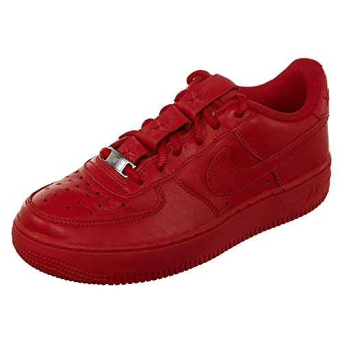 the best attitude 2c4bb 82ecc Nike Air Force 1 QS Soft Leather Big Kids  Shoes University Red ar0688-600