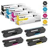 Clever Supplies Compatible Toner Cartridges Replacement for Brother TN436 TN-436 TN436BK TN436C TN436M TN436Y HL-L8360CDW L9310CDW MFC-L8900CDW L9570CDW 4 Color Set