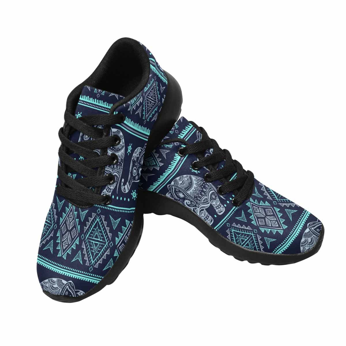 InterestPrint Women's Go Easy Walking Comfort Sports Athletic Shoes Ethnic Vintage Elephant for You Business 7 B(M) US