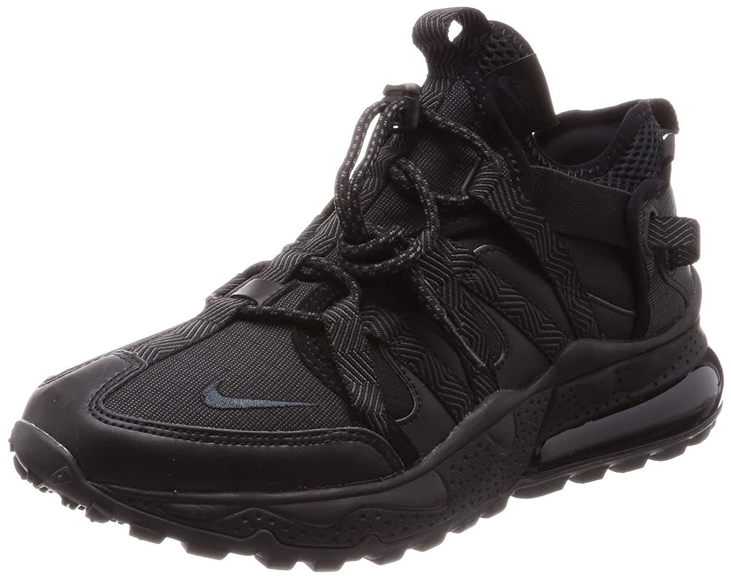 70f9cce643c1d4 Amazon.com | Nike Mens Air Max 270 Bowfin Black/Anthracite Synthetic | Shoes