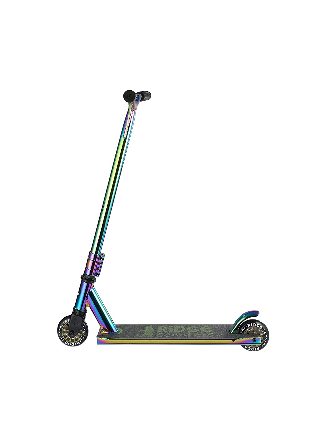 Ridge Scooters XT Pro 100 Neochrome Series - Complete Stunt Scooter