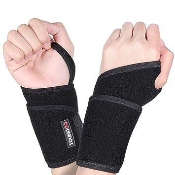 99bb79edf43bf YOUNGDO Protège Poignet, Poignet Protège 1 Paire Bandage Protection de  Poignets, pour Réduire Pression