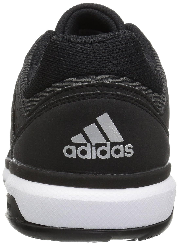another chance 50e6e 40093 Zapatillas de voleibol de equipo Crazyflight para mujer de adidas Originals  Negro   Plata Metálico   Negro
