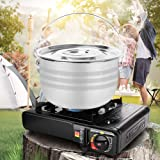 Odoland 15pcs Camping Cookware Mess