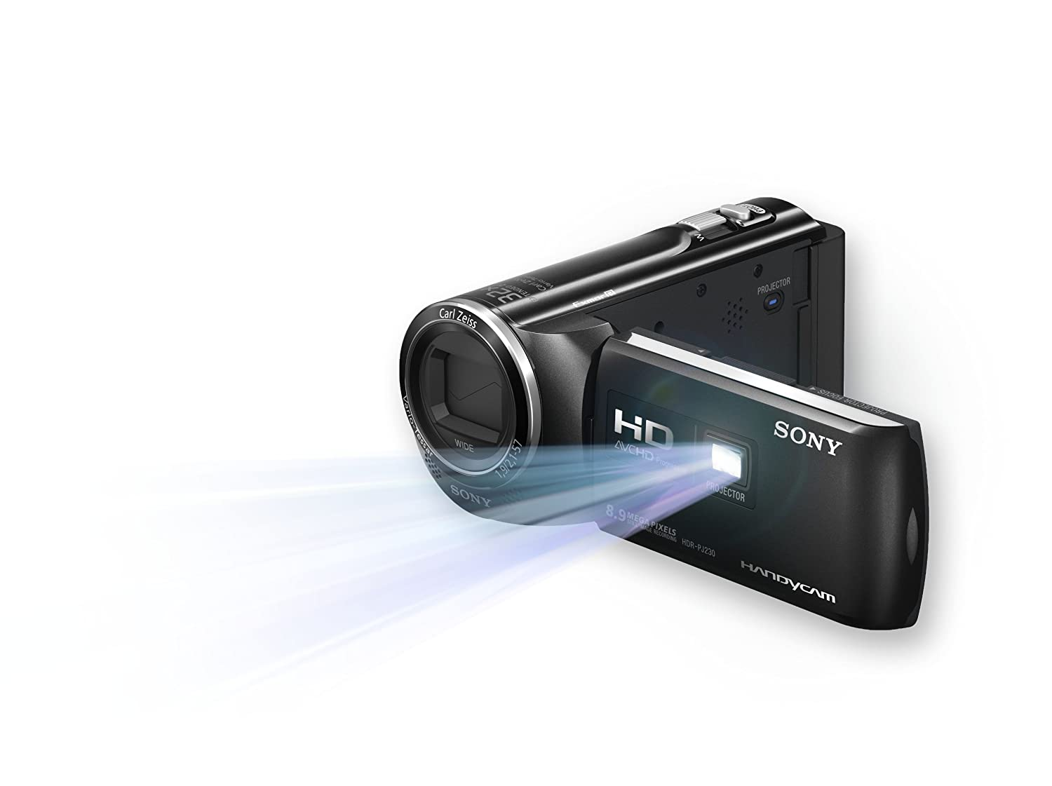 Sony HDR-PJ230/B High Definition Handycam Camcorder with 2.7-Inch LCD (Black) (Discontinued by Manufacturer)   B00AR95FP4
