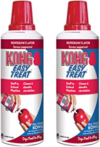 KONG - Easy Treat - Dog Treat Paste - 8 Ounce (2 Pack) - Pepperoni