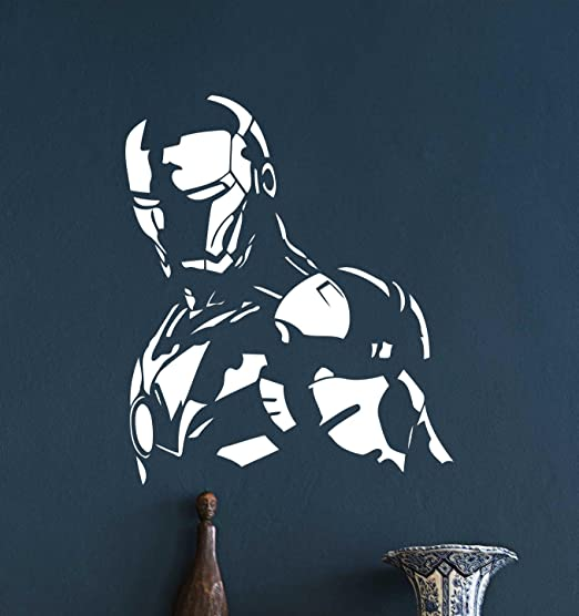 lego superheroes SUPERMAN IRONMAN SPIDERMAN VINYL WALL STICKER WALL DECALS