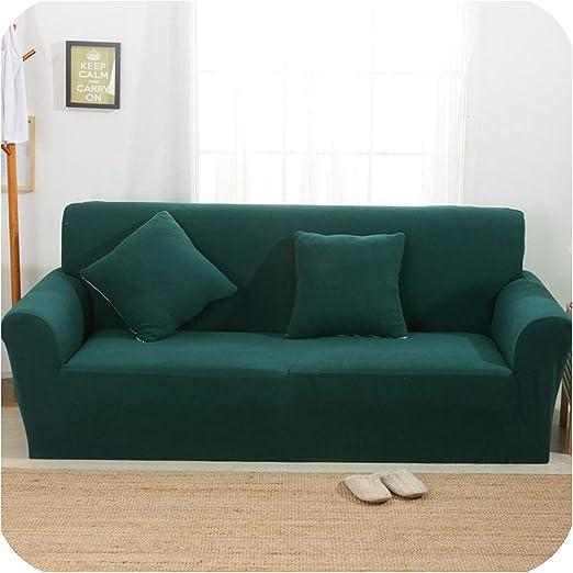 dudifeng - Funda para sofá de Punto, elástica, Universal, Color ...