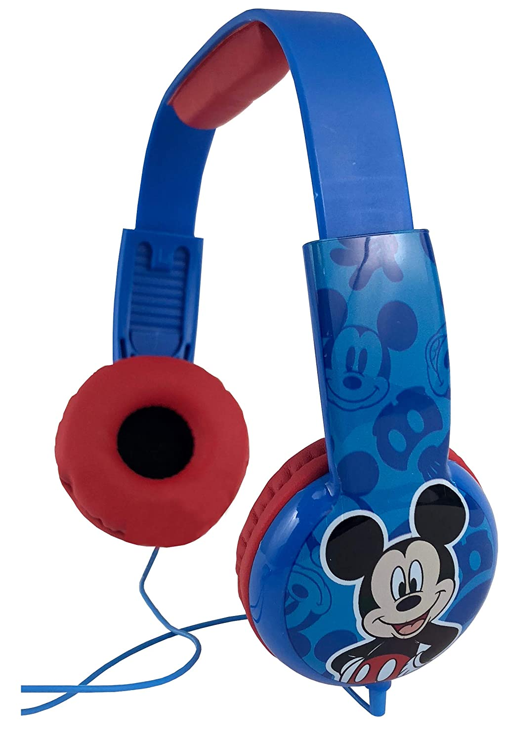 Mickey Mouse Kids Safe Headphones with Built in Volume Limiting Feature for Safe Listening - Age 3 to 12