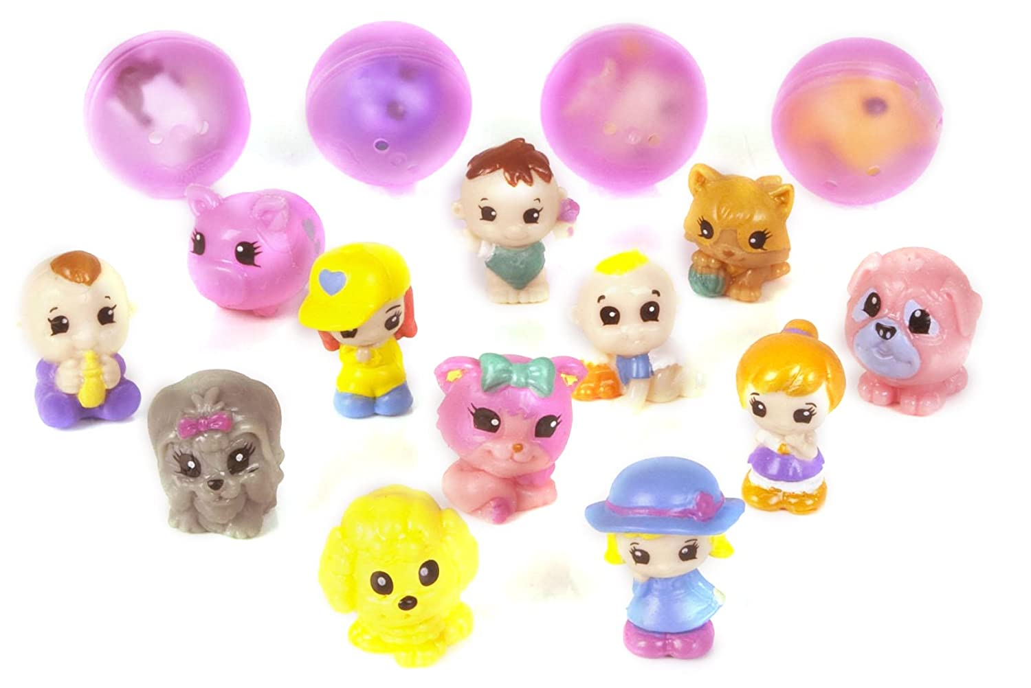 Disney-Princess-Squinkies-Set-Cinderella-Bubble-Pack-Boys-Barbie-Fuzzies thumbnail 16