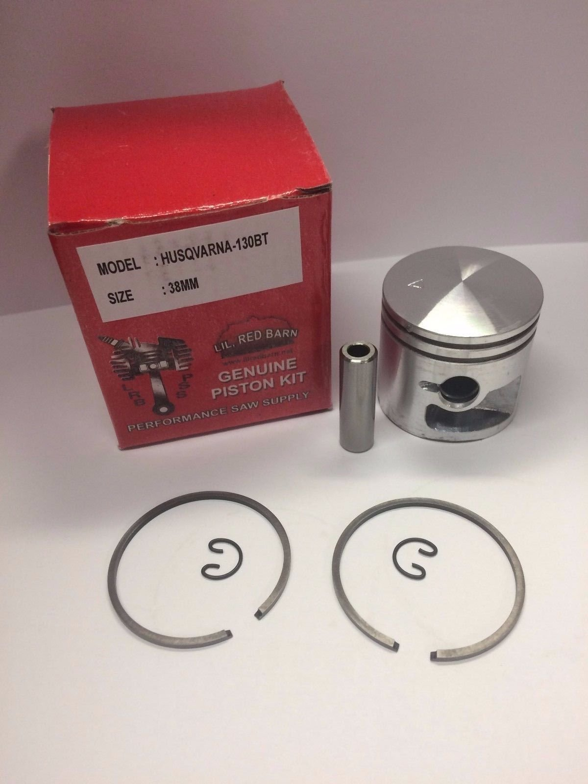 Husqvarna 130BT Blower Piston Kit 38mm, Replaces Part # 576389101 Quality Tooling, Ships from The USA by Lil Red Barn (Image #1)