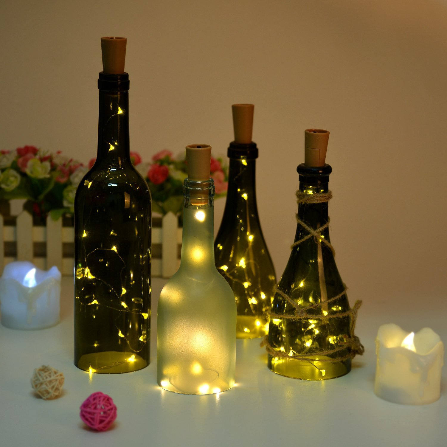 Valentine Gifts - Decorative Bottle Lights