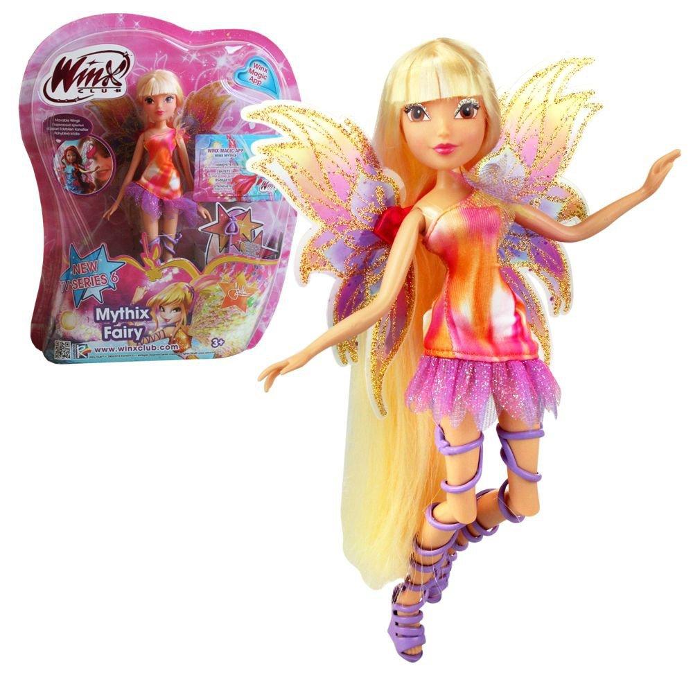 Uncategorized Winx Dolls winx club mythix fairy stella doll 28cm with scepter amazon co uk toys games