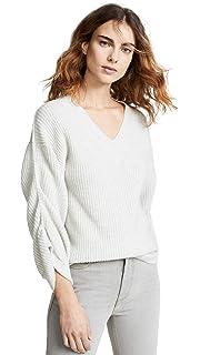 0431a511b93 Brochu Walker Women s Mabel Layered Cashmere Sweater at Amazon ...