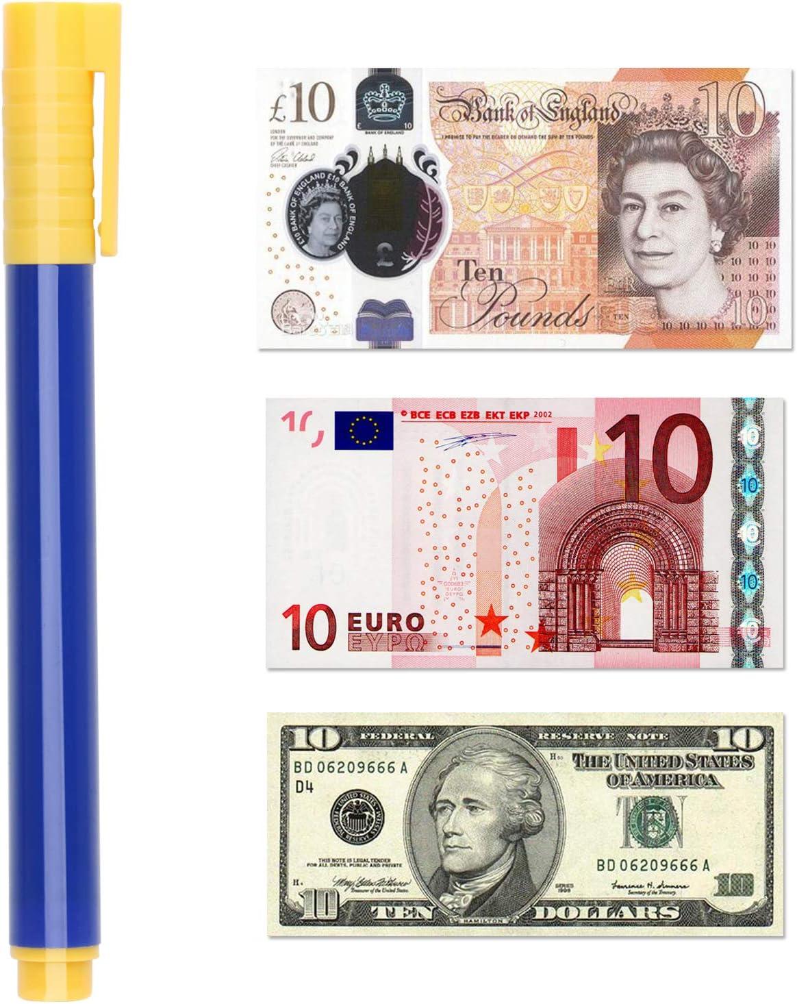 Schneider Fake Currency Notes Detector Counterfit Money Cash Checker Pen